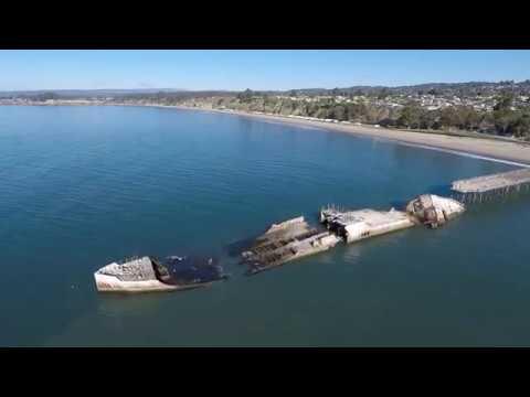 USS Palo Alto, Aptos Cement Ship- California