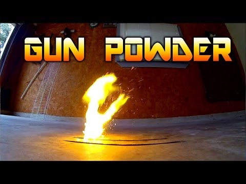 Burning a Line of Gun Powder