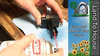 Clean your Mass Air Flow Sensor(, 2016-04-02T12:30:11.000Z)