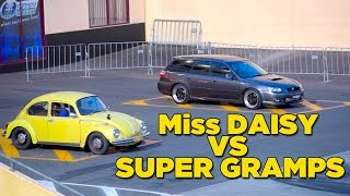 Miss Daisy VS Super Gramps