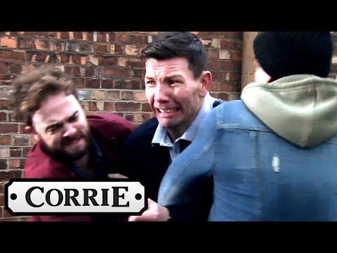 Coronation Street - David and Josh Capture One of Luke's Racist Abusers