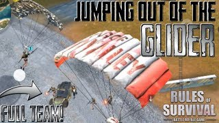 ATTACKING FROM THE SKY! *NEW* AIR AMBUSH STRATEGY! (Rules of Survival)