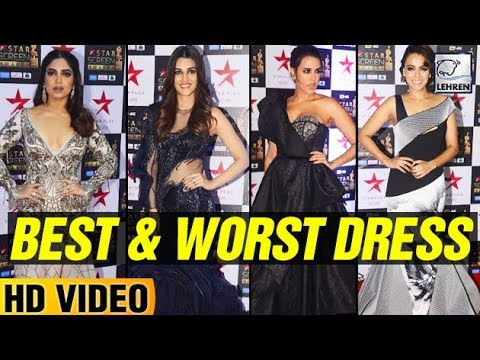 Best And Worst Dressed Actresses At Star Screen Awards 2017 | LehrenTV