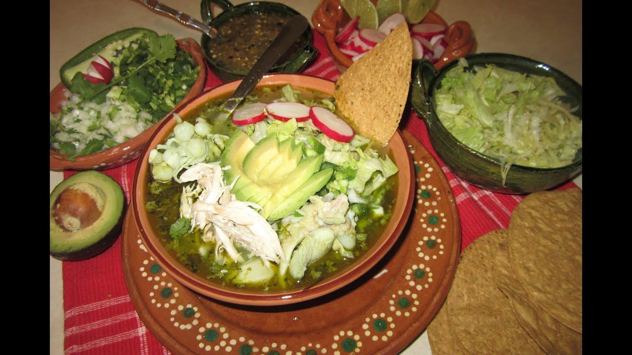Receta de pozole verde a mi estilo comida mexicana for Resetas para comidas
