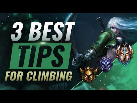 3 EASY Tips To Rank Up INCREDIBLY FAST in Season 9 - League of Legends