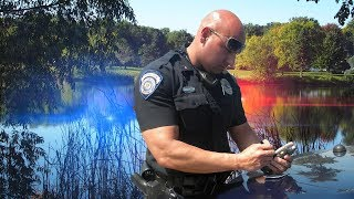 COPS CALLED While FROG Fishing Pads (NOT GOOD)