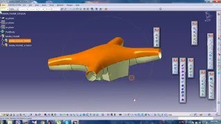 QUADCOPTER/DRONE MODELING IN CATIA V5