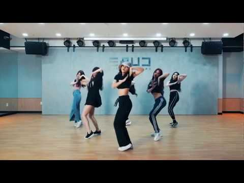 (G)I-DLE - HANN Dance Practice  (mirrored)