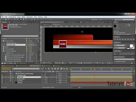 Creating a 3D Broadcast News Open Tutorial   Part 3