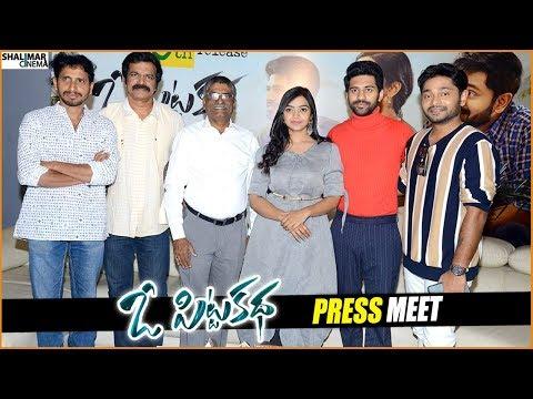 O Pitta Katha Movie Press Meet    Viswant, Nitya Shetty, Brahmaji    Shalimarcinema