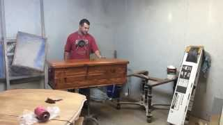 Refinishing A Cherry Cedar Chest By Timeless Arts.