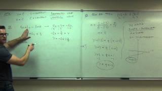Calculus 1 (Full Length Videos)