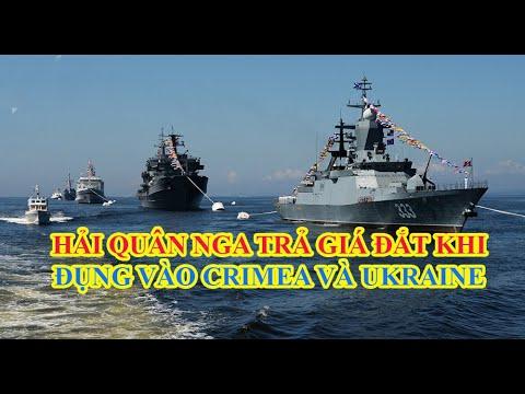 Hải quân Nga trả giá đắt khi động vào Crimea và Ukraine