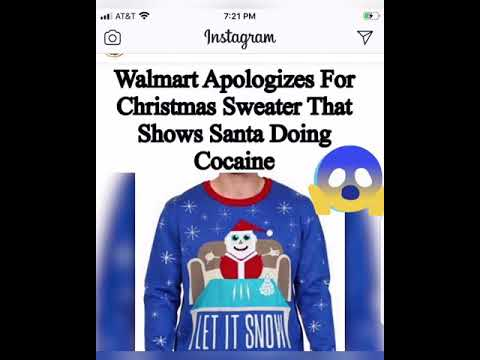 walmart apologizes for christmas sweater