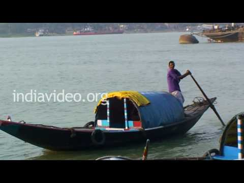 Hooghly Country boats in Kolkata, West Bengal