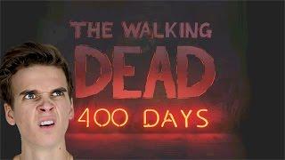 THE WALKING DEAD 400 DAYS   #1