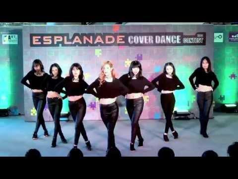 140518 PMT cover AOA - Intro + Miniskirt @Esplanade Cover Dance Contest (Audition)