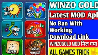 WINZO GOLD MOD APK | NO BAN 100% WORKING | WITH DRIVE LINK | EARN DAILY 1000 RS