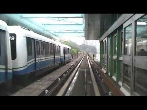 Taipei Metro (MRT - Mass Rapid Transit or Metro Rail Transit) in Tapei, Taiwan, Formosa