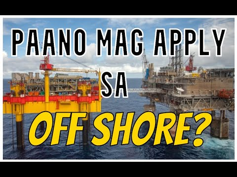PAANO MAG APPLY SA OFFSHORE VESSEL?