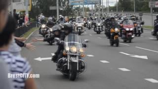 Брест. Парад байкеров по городу. 27 мая 2017