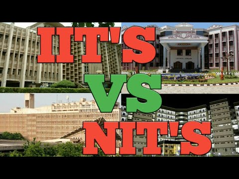 IIT'S VS NIT'S 2018-19 All Details-Placements,Fees,Ranking,etc