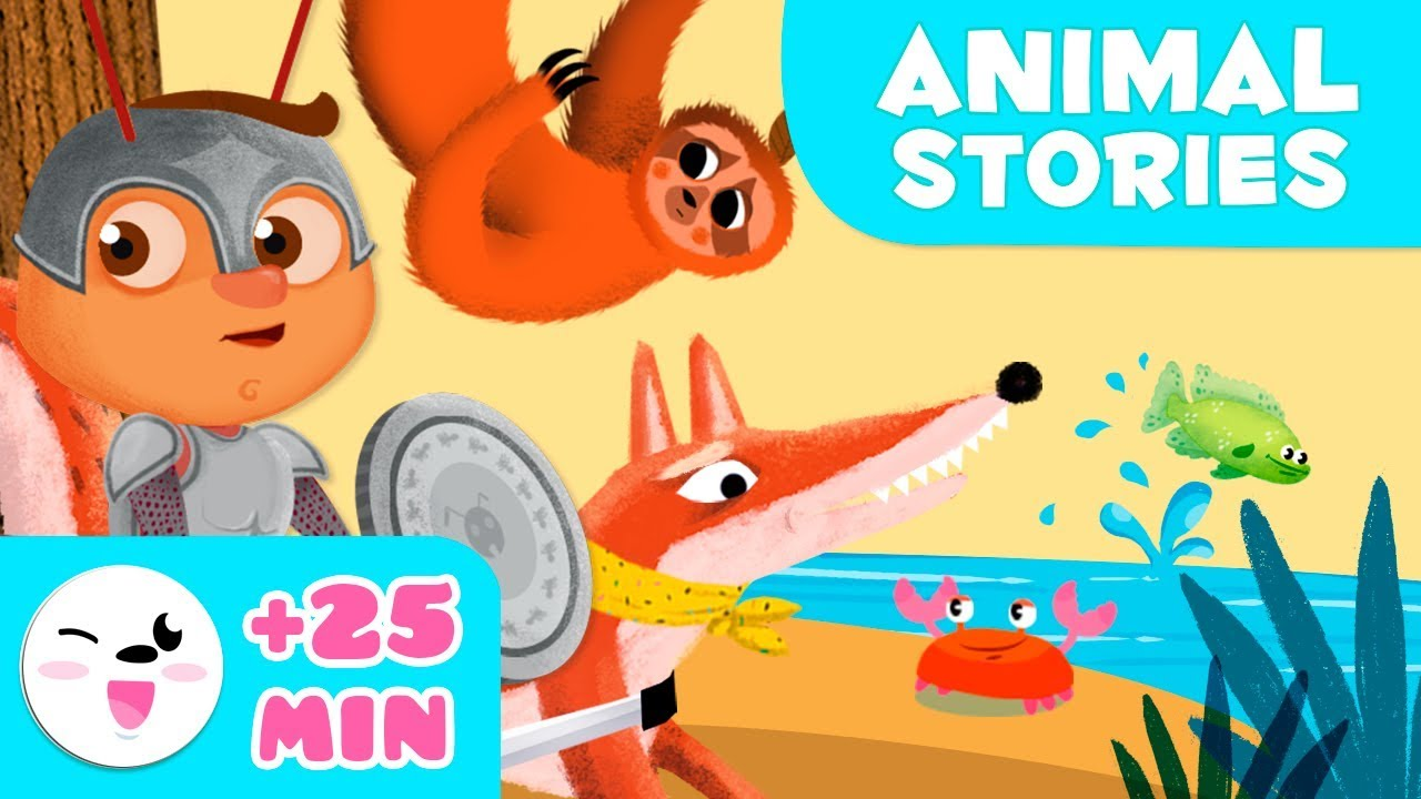 Bed Time Stories with Your Favorite Animals - Educational Stories for  Children - YouTube