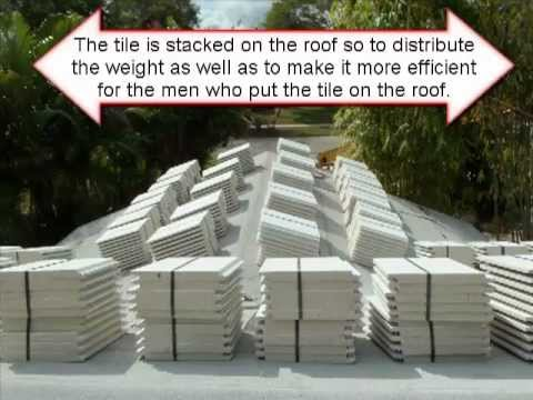 Polyfoam Used on Tile Roof in Florida