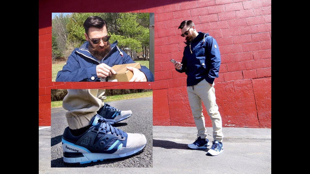 341f3f534c87 2 UNBOXINGS • FIT OF THE WEEK • SAUCONY GRID SD ON FEET - YouTube