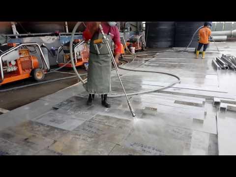 Aluminium Formwork Cleaning - Den Jet Industry Sdn Bhd