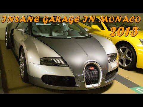 INSANE GARAGE IN MONACO - (2x Veyron, F40, Gemballa GT, etc ...) 2013 HQ