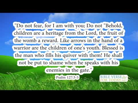 Bible Verse about Family Psalm 127:3-5  | Bible Verses | (Daily for Quotes On Love)