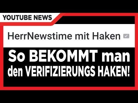 √ VERIFIZIERT-HAKEN auf Youtube! | Youtube Kanal verifizieren