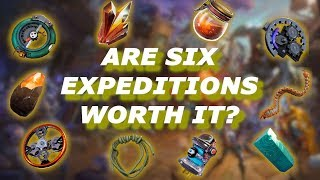 SIX EXPEDITIONS, WHAT DO I GET? // Fortnite Save The World