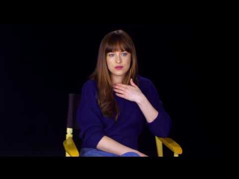 "Fifty Shades Darker ""Anastasia Steele"" Interview - Dakota Johnson"