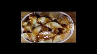Truvia Peach Caramel Bread Pudding