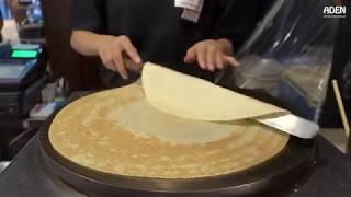 пробуем приготовить блины из блинной муки/Try to cook pancakes from pancake flour