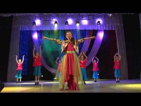 Красками разными - Денискина Ангелина, 9 лет