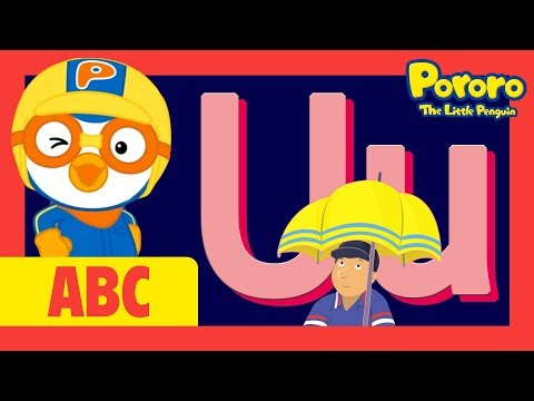 "Learn Letter ""U"" with Pororo 