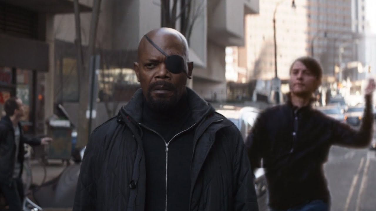 Bully Maguire snaps Nick Fury out of existence