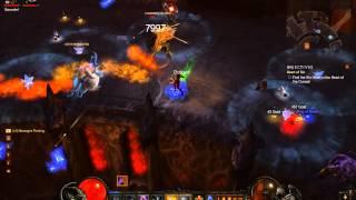 Diablo 1.05 Beta Monster Level 10 2 Elite packs and a Goblin