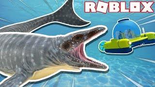 NOVO MOSASAURUS!! -Códigos SharkBite, novo tubarão, barco Canopy, Squid Sniper (ROBLOX)