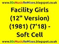 "watch he video of Facility Girls (12"" Version) - Soft Cell 