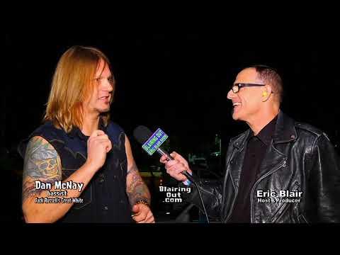 Jack Russell's Great White Dan McNay & Eric Blair talk Van Halen 2017