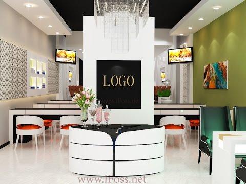 Beautiful nail salon youtube - Bar salon design ...