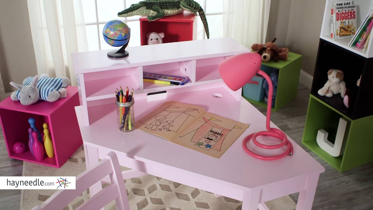 Classic Playtime Juvenile Corner Desk Pink Review