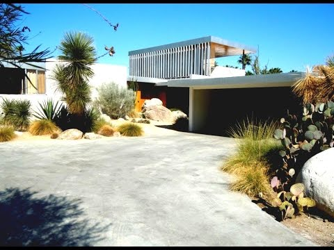 Palm springs tour of mid century modern homes youtube for New modern homes palm springs