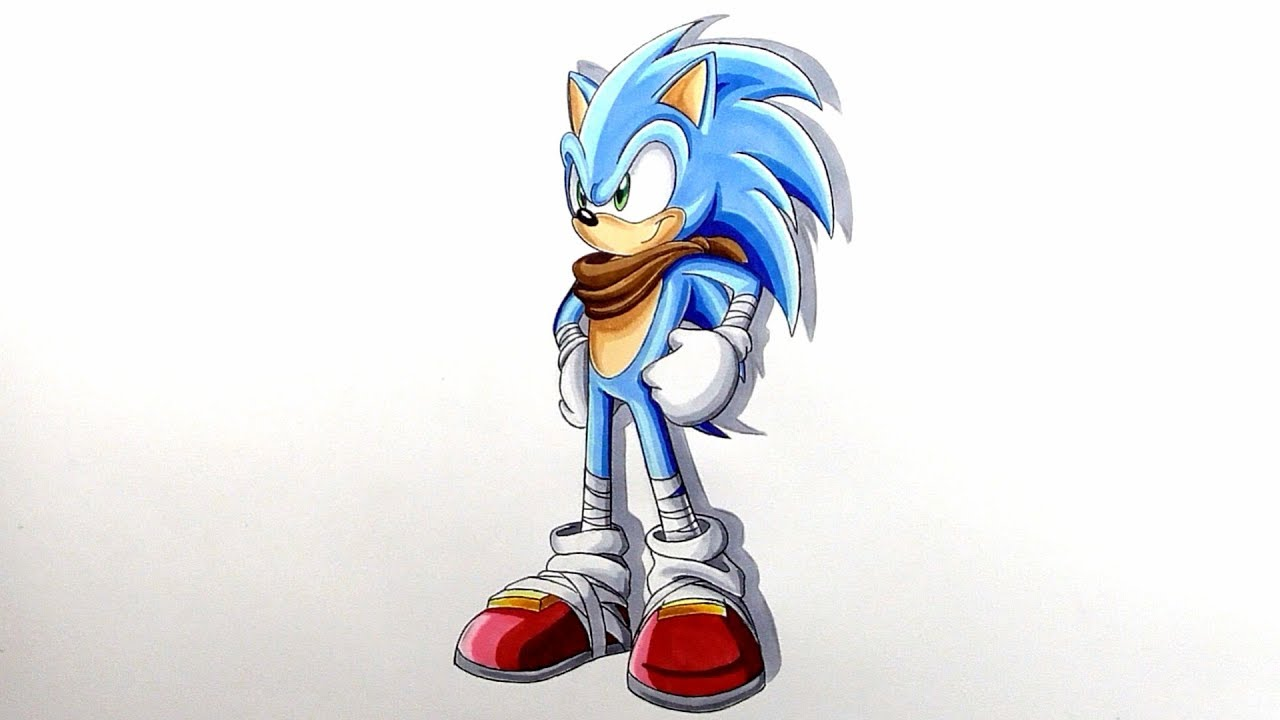 Drawing Boom Sonic Sonic Boom Youtube