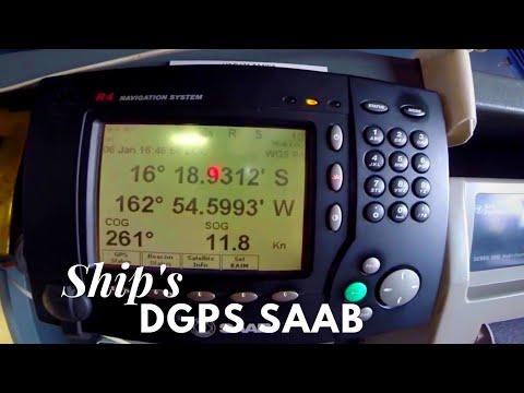Life at Sea: Ship´s DGPS System View HD