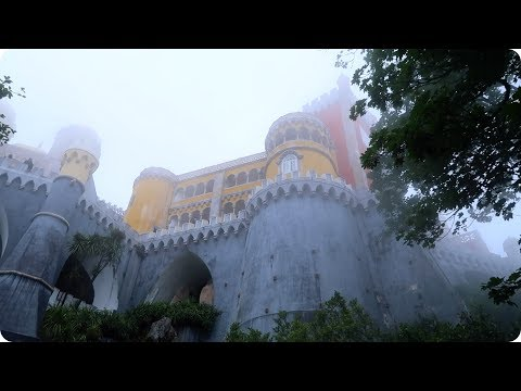 A Real Life Castle in the Clouds! Sintra, Portugal